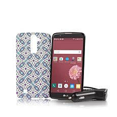 "LG Premier 5.3"" Android TracFone Bundle"