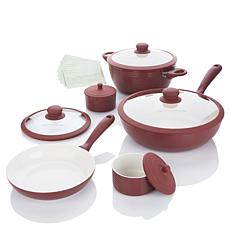 Lorena Garcia 10pc Lightweight Ceramic Nonstick Cookset