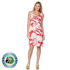 Margaritaville Daisy Floral Mid Dress