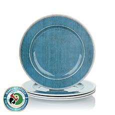Margaritaville Set of 4 Salad Plates - Blue