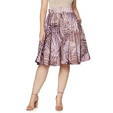 Melissa McCarthy Seven7 Pleated Full Skirt
