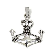 Michael Anthony Jewelry® Stainless Steel Anchor Pendant
