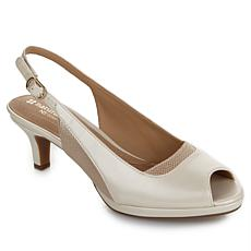 "Naturalizer ""Highly "" Slingback Peep-Toe Pump"
