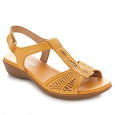 "Naturalizer ""Network"" Leather T-Strap Sandal"