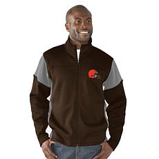 NFL Draw Play Full Zip Jacket by Glll