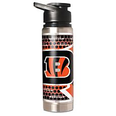 NFL Stainless Steel Water Bottle - Cincinnati Bengals