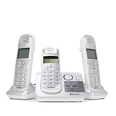 Panasonic 3-pack Phone System w/Call Block & Link2Cell