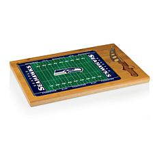 Picnic Time Glass Top Cutting Board - Seattle Seahawks
