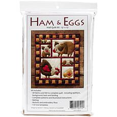 Rachel's of Greenfield Ham-and-Eggs Quilt Kit