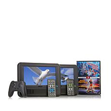 RCA 2pk Portable DVD Players w/Game Controller & Movies