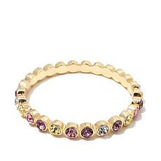 "R.J. Graziano ""Glow On"" Colored Crystal Bangle Bracelet"