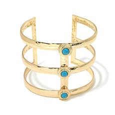 "R.J. Graziano ""Ultra Glam"" Simulated Turquoise Bracelet"