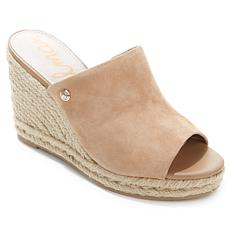 "Sam Edelman ""Bonnie"" Leather and Jute Wedge"