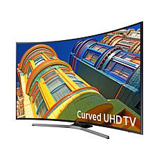 Samsung 4K Ultra-HD Curved TV with 6' HDMI Cable