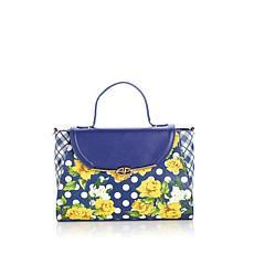 Sharif English Garden Digital Print Satchel