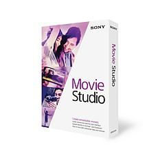 "Sony ""Movie Studio 13"" Video Editing Software"