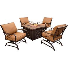 Summer Nights 5-piece Outdoor Fire Pit Set