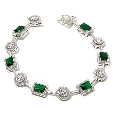 Victoria Wieck Absolute™ and Simulated Emerald Bracelet