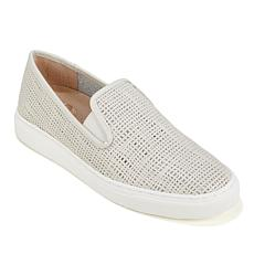 "Vince Camuto ""Becker"" Weave-Embossed Leather Sneaker"
