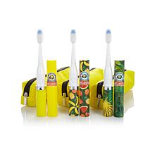 VIOlife Slim Sonic 3pc Margaritaville Toothbrush Set