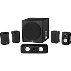 Yamaha 5.1-Channel Home Theater Speaker System - Black