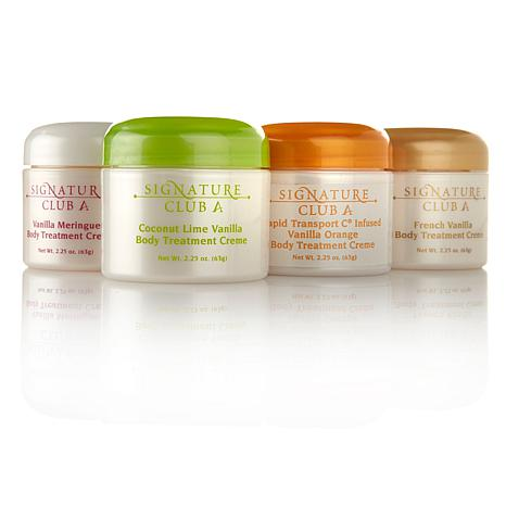 Signature Club A by Adrienne Body Creme 4-pack