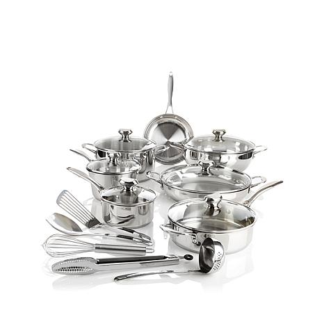 "Wolfgang Puck Bistro Elite 18pc ""Favorites"" Cookware"