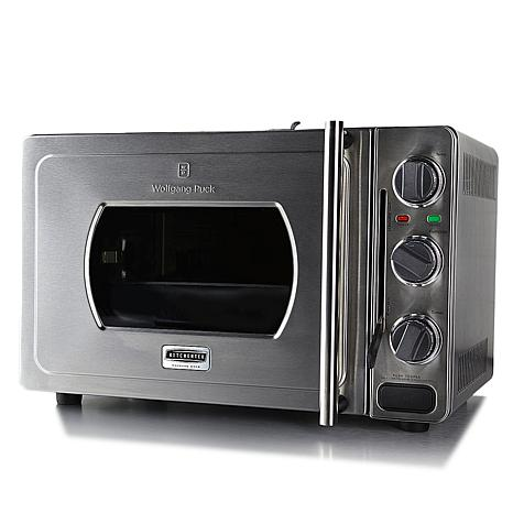 Wolfgang Puck Rapid Pressure Oven w/Rotisserie Basket