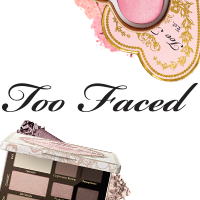 too faced. a makeup platter