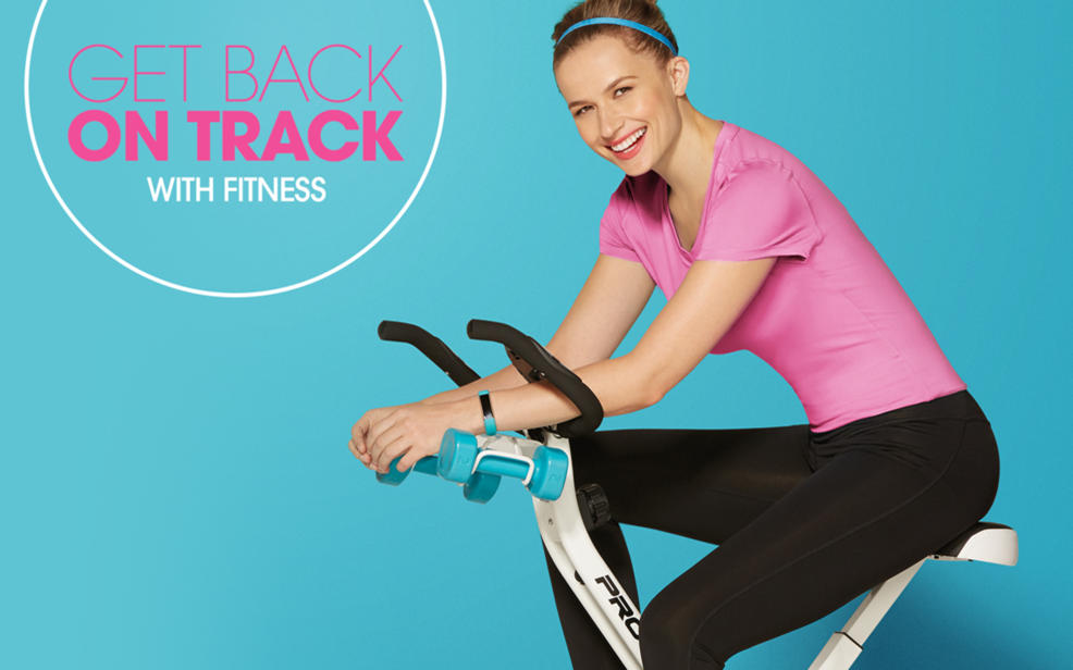 GET BACK ON TRACK WITH FITNESS