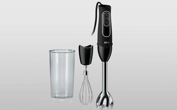 a handheld blender like an electronic whisk