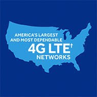 america's largest and most dependable 4g lte networks