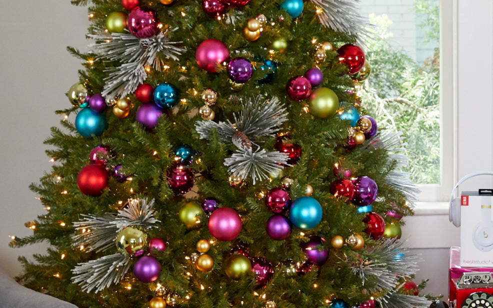 christmas trees - Pictures Of Pretty Decorated Christmas Trees