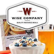 Wise Company. Quality Prepared Meals. Trademark.
