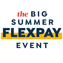 The Big Summer FlexPay Event