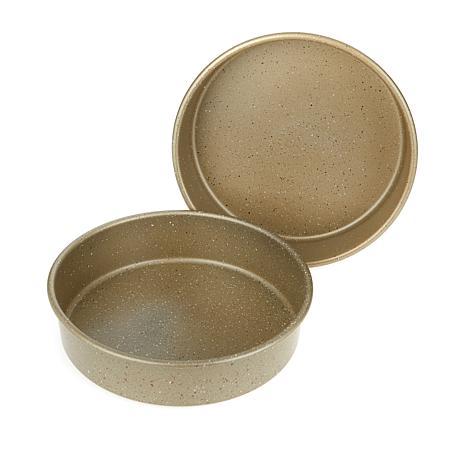 Curtis Stone Dura-Bake Set of 2 Round Cake Pans