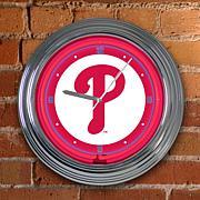 "15"" Neon Team Clock"