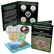 2013 Fort McHenry National Park 5pc Quarter Set
