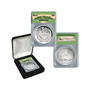 2014 PR69 DCAM Baseball HOF Silver Dollar Coin