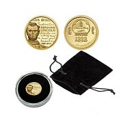2015 Proof LE 15,000 Abraham Lincoln .9999 Gold Coin