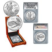2018 PR70 Preamble to Declaration of Independence $100 Platinum Eagle