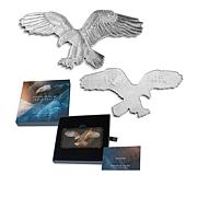 2019 Reverse Proof Bald Eagle Shaped 1oz. Silver $2 Coin