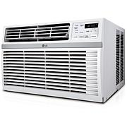 24 500 BTU 230V Window-Mounted Air Conditioner with Remote Control