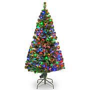 5' Crestwood Fiber Optic Evergreen Tree