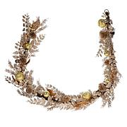 Alison Cork 6' Gold-Colored LED Garland with 6-Hour Timer