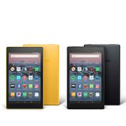 """Amazon Fire HD 8"""" IPS 16GB Alexa-Enabled Tablet 2-pack with Voucher"""
