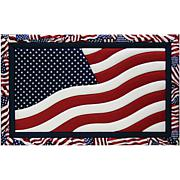American Flag Quilt Magic No Sew Wall Hanging Kit