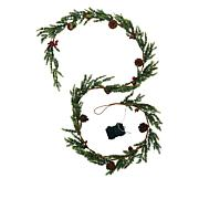 American Tree & Wreath 9' Color-Changing Pre-Lit Garland