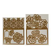 Anna Griffin® Jacket Card and Embellishment Dies