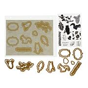 Anna Griffin® Nature Mini Stamp and Die Set